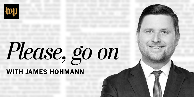Please, Go On with James Hohmann Series Cover Image